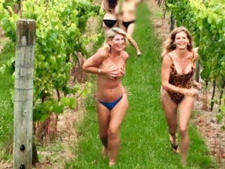 Racing through the vines